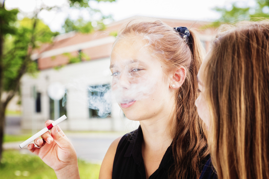 The number of children in Illinois using and becoming sick from e-cigarettes is on the rise. (iStockphoto)