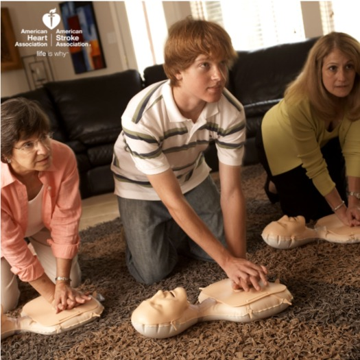 A new law in Wisconsin mandates teaching of CPR in high schools. Many people die of sudden cardiac arrest because witnesses don't know what to do. (AHA)