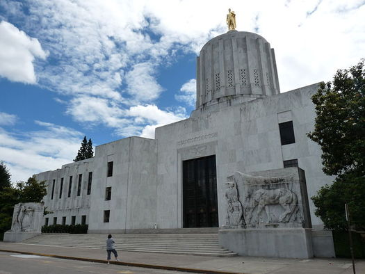 An analysis from Salem found an initiative heading to the November ballot to tax large corporations would add $3 billion to Oregon's budget. (Shaundd/Wikimedia Commons)