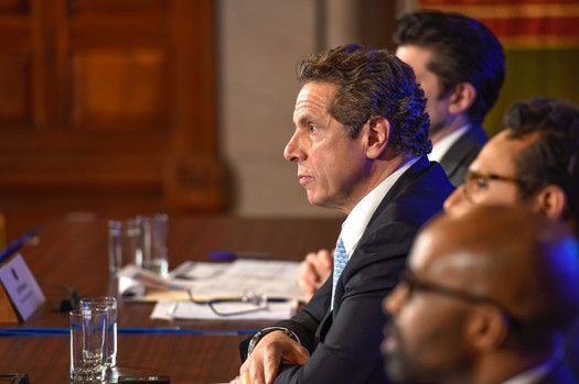 Gov. Andrew Cuomo's bills cap LLC contributions at $5,000. (Gov. Andrew Cuomo/flickr.com)