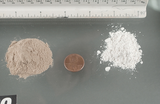 First-time offenders caught with small amounts of drugs like cocaine and heroin will no longer face felony charges in Maine. (Credit: Drug Enforcement Administration)