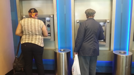 Experts say where you use an ATM can make a big difference when it comes to avoiding ATM skimming fraud. (Mike Clifford)