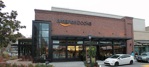 Amazon, headquartered in Seattle, and other high-tech companies have created a solid economy for Washington. (SoundBruce/flickr)