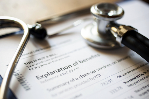 Analysts say surprise medical bills from out-of-network doctors can sometimes turn a medical emergency into a financial catastrophe. (MinervaStudio/iStockphoto)