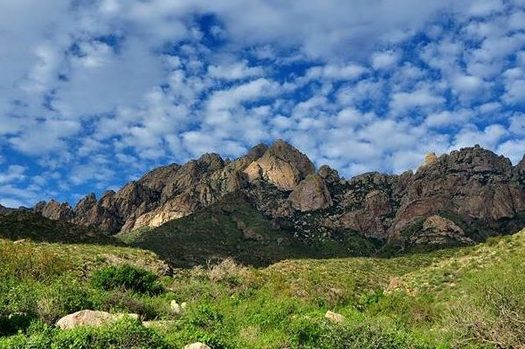 A bill reintroduced in Congress would designate eight wilderness areas within the Organ Mountains-Desert Peaks National Monument in southeastern New Mexico. (BLM)