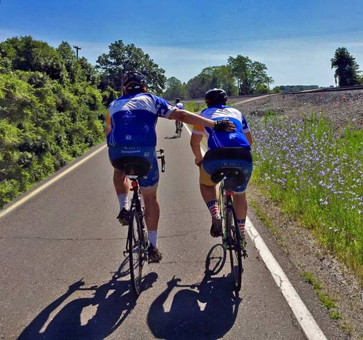 The Journey of Hope cross-country cycling trek, raising money to help people with disabilities, arrives in Las Vegas today. (The Ability Experience)