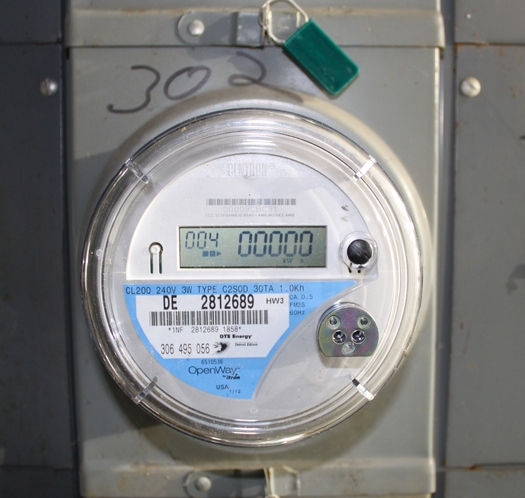 Mainers could save at the utility meter with a cost effective clean power plan, according to a new report. (Dwight Burdette via wiki)