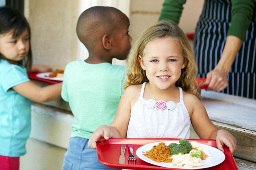 The nonprofit group Feeding Texas says too few low-income children are taking advantage of the state�s summer meals program. (iStockphoto)