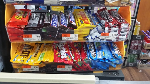 Products such as M and M's are likely to contain GMO labels in New Hampshire thanks to a new law in Vermont that faces a challenge in the U.S. Senate. (M. Clifford)