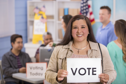 Young Latino voters are getting some help in the form of a new smartphone app that aims to get them up to date on the candidates ahead of Election Day. (iStockphoto)