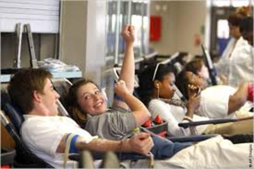 Summer is when fewer people take time to donate blood and this year there's a critical shortage. (US State Department)