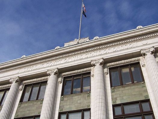 White males are 37 percent of Oregon's population, but are half of all state judges. (M.O. Stevens/Wikimedia Commons)