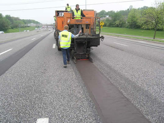 The Missouri Department of Transportation is testing environmentally friendly sidewalks at a welcome center, and if successful it could be used on roads. (MoDOT)
