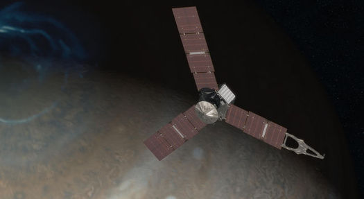 Solar energy advocates say the Juno space probe orbiting Jupiter is proof that the Granite State could reap big benefits from solar power, even though New Hampshire does not get the most sunshine in the nation. (NASA)
