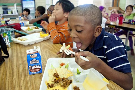 The Summer Food Service Program is open to all children 18 and younger. (Amanda Mills, USCDCP/public-domain-image.com)