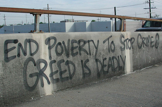 An End Poverty Now March outside the RNC will call for higher wages for struggling Ohioans. (Bart Everson/Flickr)