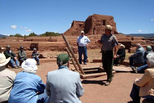 As part of Latino Conservation Week, community members are being encouraged to show their passion for protected areas, including the Pecos National Historic Park. (National Park Service)