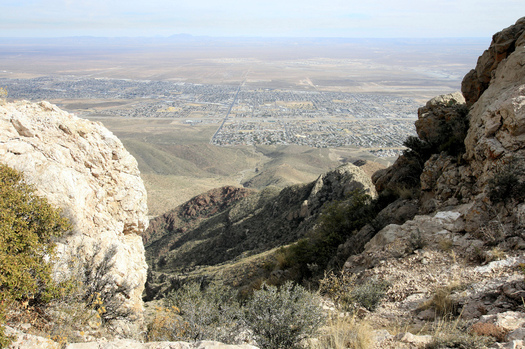 As part of Latino Conservation Week, community members are being encouraged to join a hike and help preserve the Castner Range of the Franklin Mountains near El Paso. (Mark Clune/Rio Grande Sierra Club)