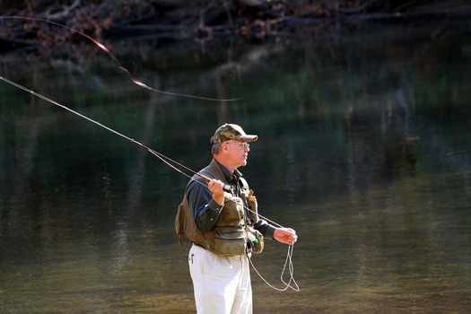 Fishing on public lands currently accessible to all North Carolinians may not be possible if the GOP succeeds in transferring control of federal public lands to states.(NCWF)