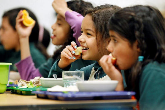 School lunch program enrollment may not accurately reflect family income. (USDA/flickr.com)