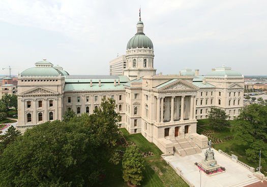 Indiana's governor will have his eye on the nation's capital, but work is expected to continue at the Statehouse. (Veronica Carter)