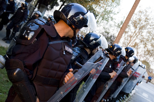 As thousands of officers from several states gather in Cleveland for the Republican National Convention this week, legal experts are reminding protesters of their rights and responsibilities. (iStockphoto)