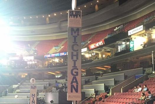 Michigan has 67 Bernie Sanders delegates, 63 Hillary Clinton delegates and 17 superdelegates. (Michigan Democratic Party)