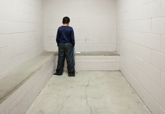 The use of solitary confinement on youth can cause trauma, mental distress, and increase risk of suicide and self-harm. (@RichardRoss, juvenile-in-justice.com)