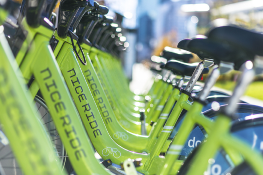 As a test run of the Nice Ride bike share program looks to become permanent in Bemidji, a similar program is set to kick off in Rochester later this summer. (iStockphoto)