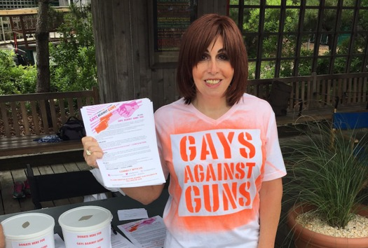 Melissa Sklarz is one of more than 25 transgender delegates at the DNC. (MSklarz)