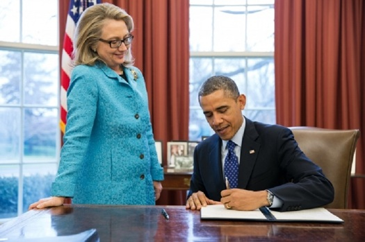 Hillary Rodham Clinton makes her case to the nation tonight as to why she should replace President Obama in the White House. (whitehouse.gov)
