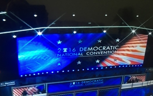 The Democratic Party platform rejects high-stakes testing and teacher evaluations based on student test scores. (Democratic National Convention)