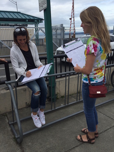 Nearly 330,000 signatures were submitted for a ballot initiative to create a voucher donation system for funding future Washington elections. (Chelsea Talbert/Integrity Washington)