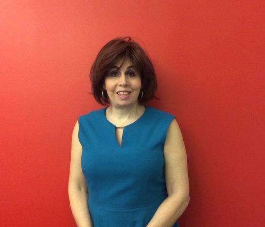 Melissa Sklarz is the first transgender New York delegate to a Democratic National Convention. (MSklarz)