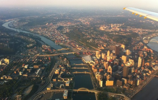 Allegheny County often violates federal standards for safe smog levels. (phillq23/Wikimedia Commons)