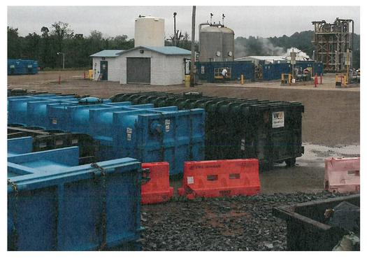 Documents show nearly 50 containers of low-level radioactive West Virginia fracking waste was dumped into a Kentucky landfill, amid regulatory confusion and questionable business practices. (WV DHHR)