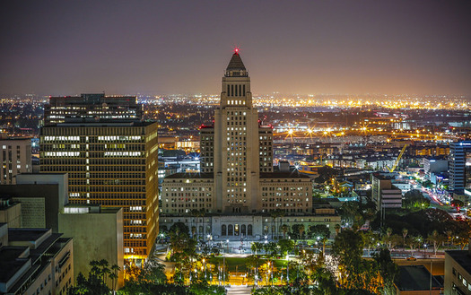 A new study shows California buildings could save $1.3 billion in 2030 on power bills by helping the state comply with the Clean Power Plan. (Office of L.A. Mayor Eric Garcetti)