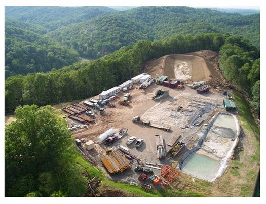 Documents show low level radioactive waste was dumped into a Kentucky landfill from fracking operations in Ohio and West Virginia. (Sierra Club)