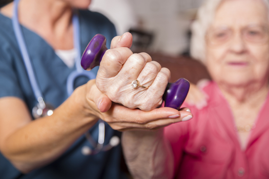 Illinois officials suspended overtime restrictions affecting about 8,000 Illinois home-care workers the same day as a class-action lawsuit was to be filed over the rules. (iStockphoto)