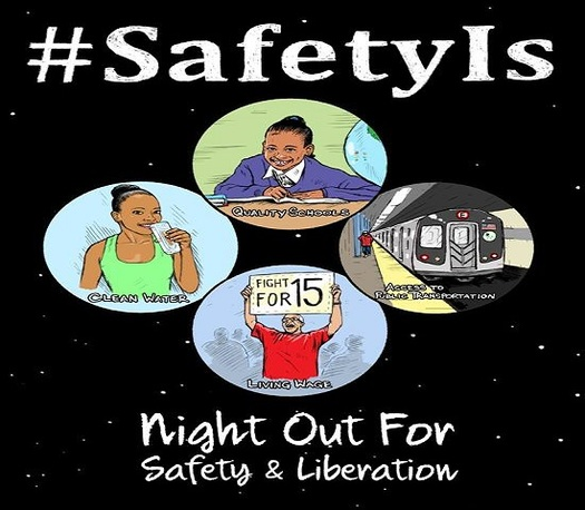 An event in Detroit tonight focuses on building equality, opportunity and prosperity in Michigan communities.  (Night Out for Safety and Liberation)