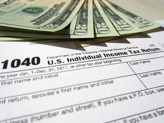 Some journalists say a glimpse at their tax returns is crucial to getting a true financial picture of a candidate. (401(k)2012/Flickr)