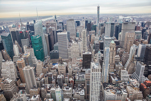 Buildings account for almost 75 percent of New York City carbon emissions. (Anthony Quintano/flickr.com)
