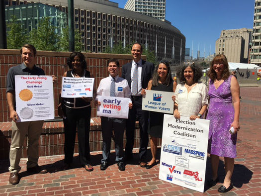 A coalition is urging cities and towns across the Bay State to take a robust approach to setting up the state's first ever early voting days. (LWV MA)