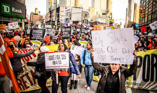 Two recent reports say crime rates could drop if people just earned more money. (fightfor15.org)
