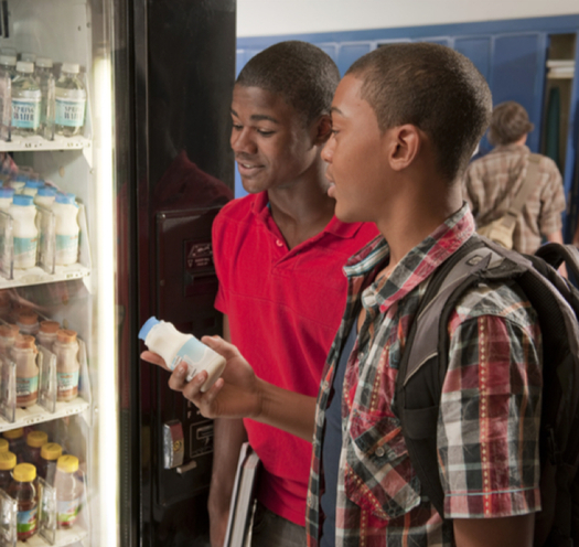 New federal regulations are in place this school year to ensure that snacks offered during school hours and after-school activities are healthy. (USDA.gov)