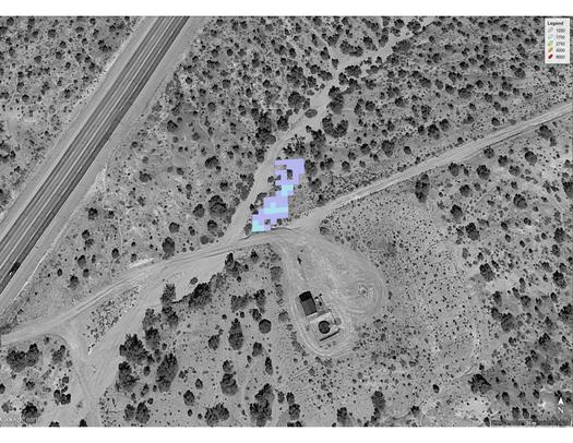 NASA studied 250 sites emitting methane in the Four Corners region, including taking satellite images. (NASA)