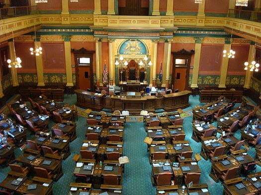 Democrats would need to win nine seats to regain power in the Michigan House of Representatives. (Steve and Christine/Wikimedia)