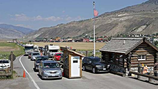 Yellowstone National Park is on track for another record-breaking year, with visitation numbers up 6.5 percent in 2016 compared to last year. (National Park Service)