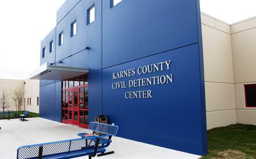 The Karnes Co. Civil Detention Center is one of three privately run family detention centers, two of them in Texas. (ICE/Wikimedia Commons)