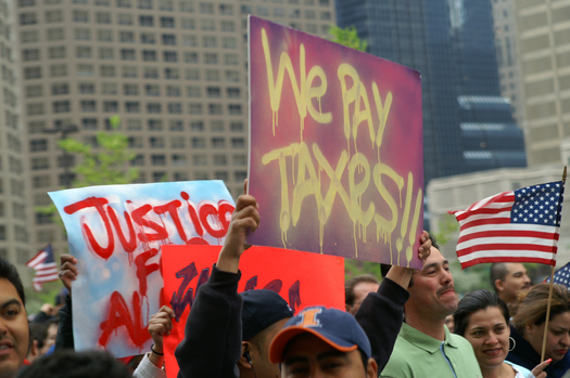 Illinois immigration reform advocates point to a new study that shows the state's foreign-born population makes major contributions to local economies. (iStockphoto)